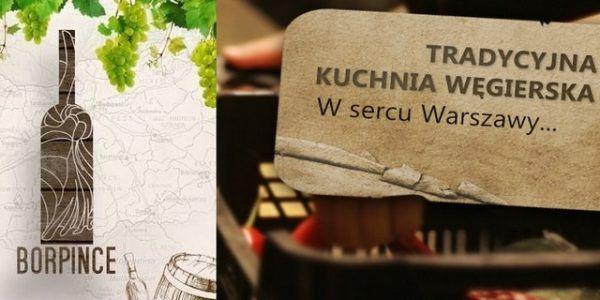 Wszystkich miłośników węgierskiej kuchni zapraszamy do warszawskiej winiarni i restauracji Borpince.