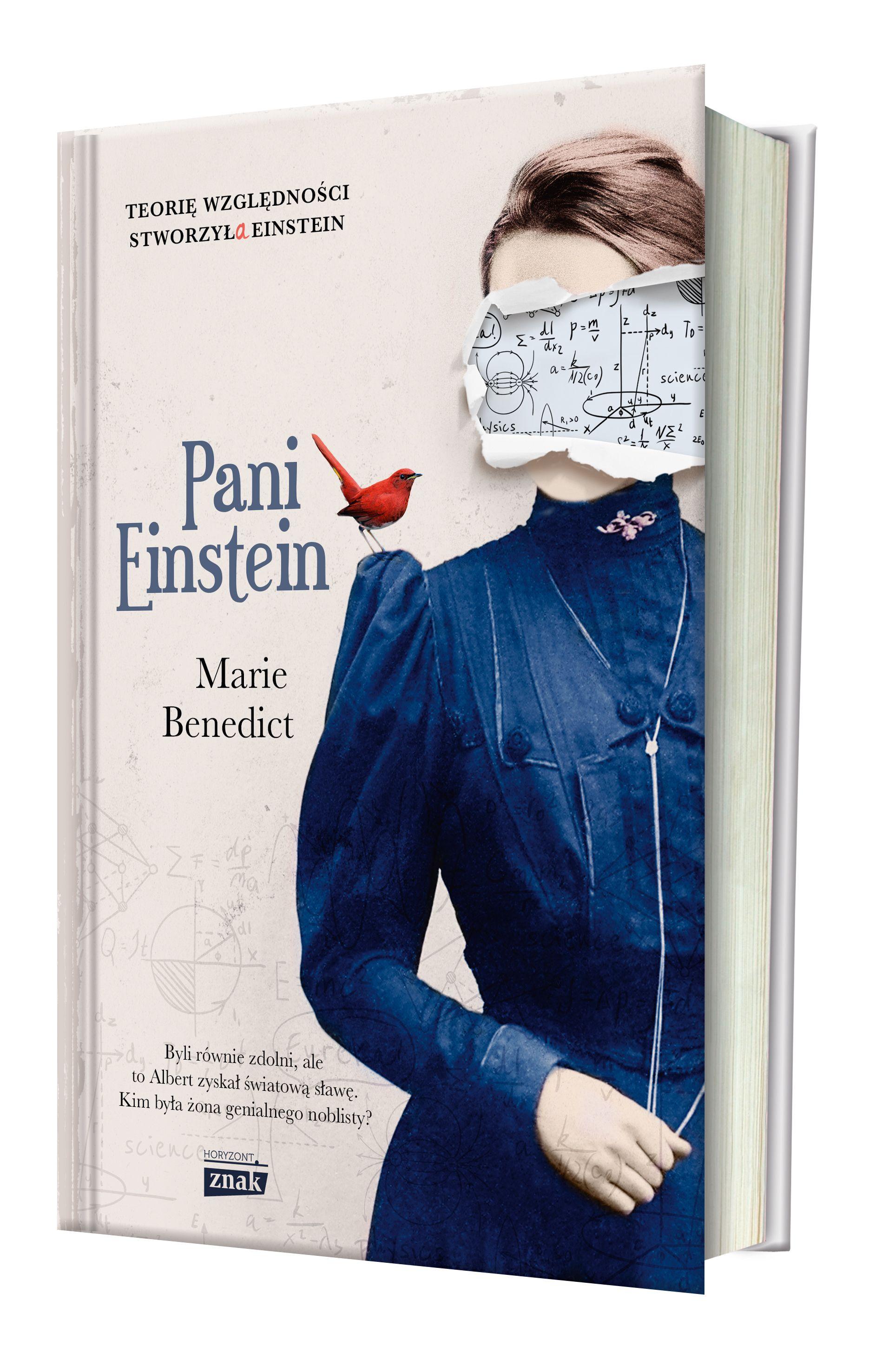 """Inspiracją do napisania artykułu stanowiła książka Marie Benedict zatytułowana """"Pani Einstein"""" (Znak Horyzont 2017)."""
