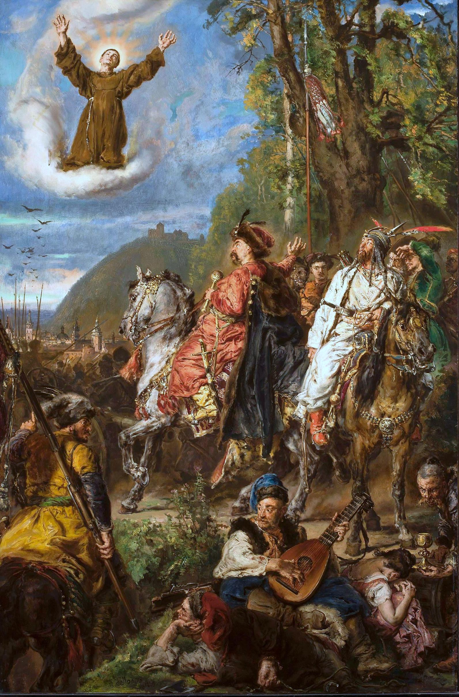 Tak atak Chmielnickiego i Tuhaj-beja na Lwów wyobrażał sobie Jan Matejko (źródło: domena publiczna).