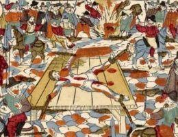 W epoce nowożytnej egzekucja często stawała się krwawym spektaklem (źródło: domena publiczna).