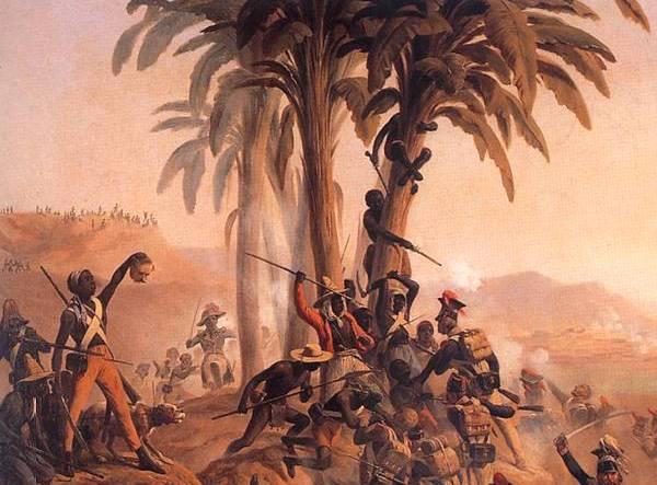 Mało kto zna historię haitańskiego truciciela. Fragment obrazu Januarego Suchodolskiego (źródło: domena publiczna).