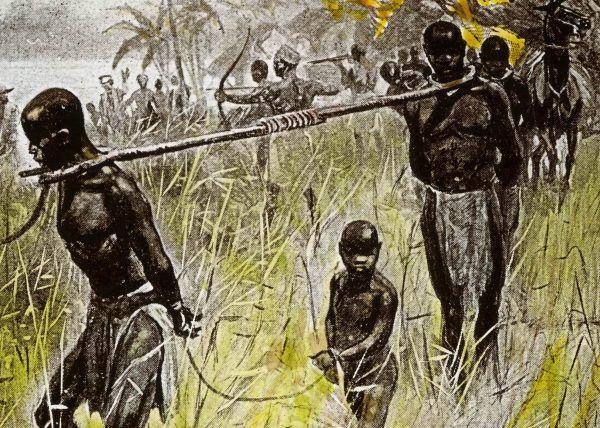 Handlarze niewolników (źródło: domena publiczna).