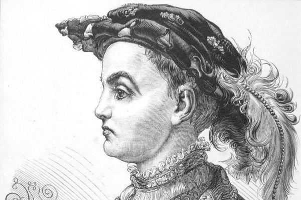 Zygmunt August został królem już w wieku 9 lat podczas jedynej w Polsce elekcji vivente rege. Na tym obrazie Matejki z 1866 roku widzimy władcę w 13 roku życia (źródło: domena publiczna).