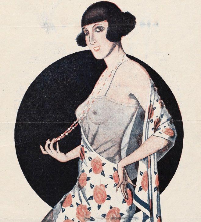 """Ilustracja okładkowa magazynu """"Bocian"""". 1926 rok."""