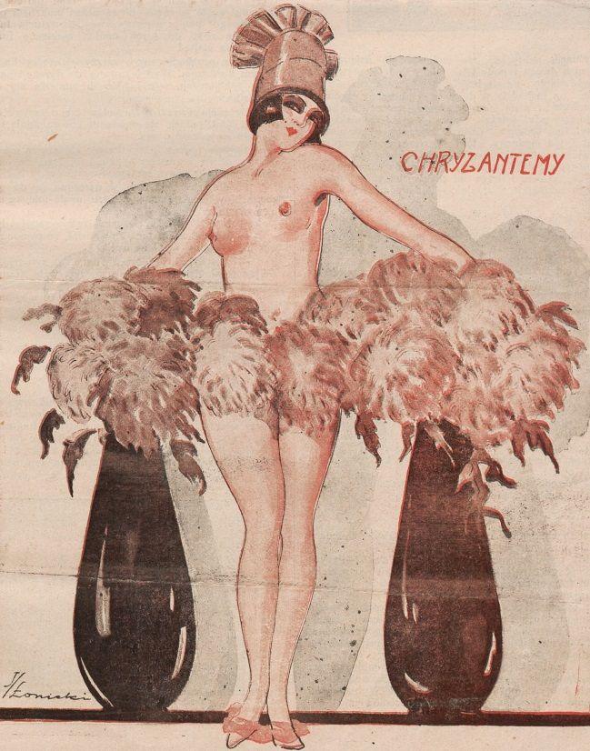 """Ilustracja okładkowa magazynu """"Bocian"""". 1925 rok."""