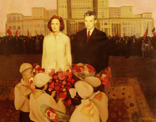 """Patologiczna """"matka i ojciec narodu"""". Prawdziwe """"dzieci Ceausescu"""" raczej nie przyniosłyby im kosza kwiatów… (autor zdjęcia: RaLaura, lic. CC BY 2.0, źródło: flickr)."""