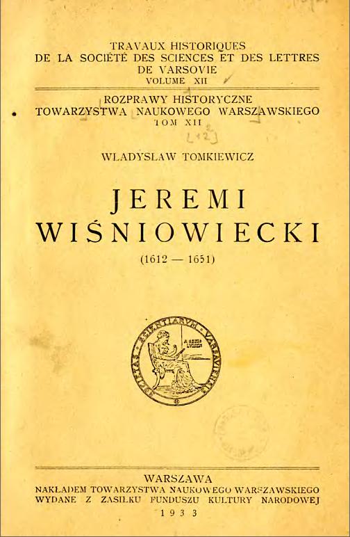 Artykuł powstał między innymi w oparciu o książkę Władysława Tomkiewicza, wydaną w 1933 r. nakładem Towarzystwa Naukowego Warszawskiego.