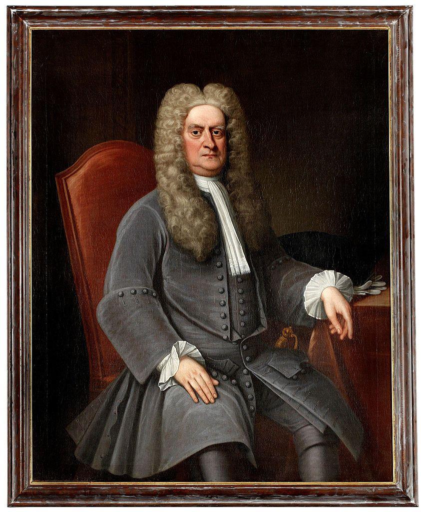 Isaac Newton, by zaspokoić swoją ciekawość, był gotowy poświęcić nawet własne oko (źródło: domena publiczna).