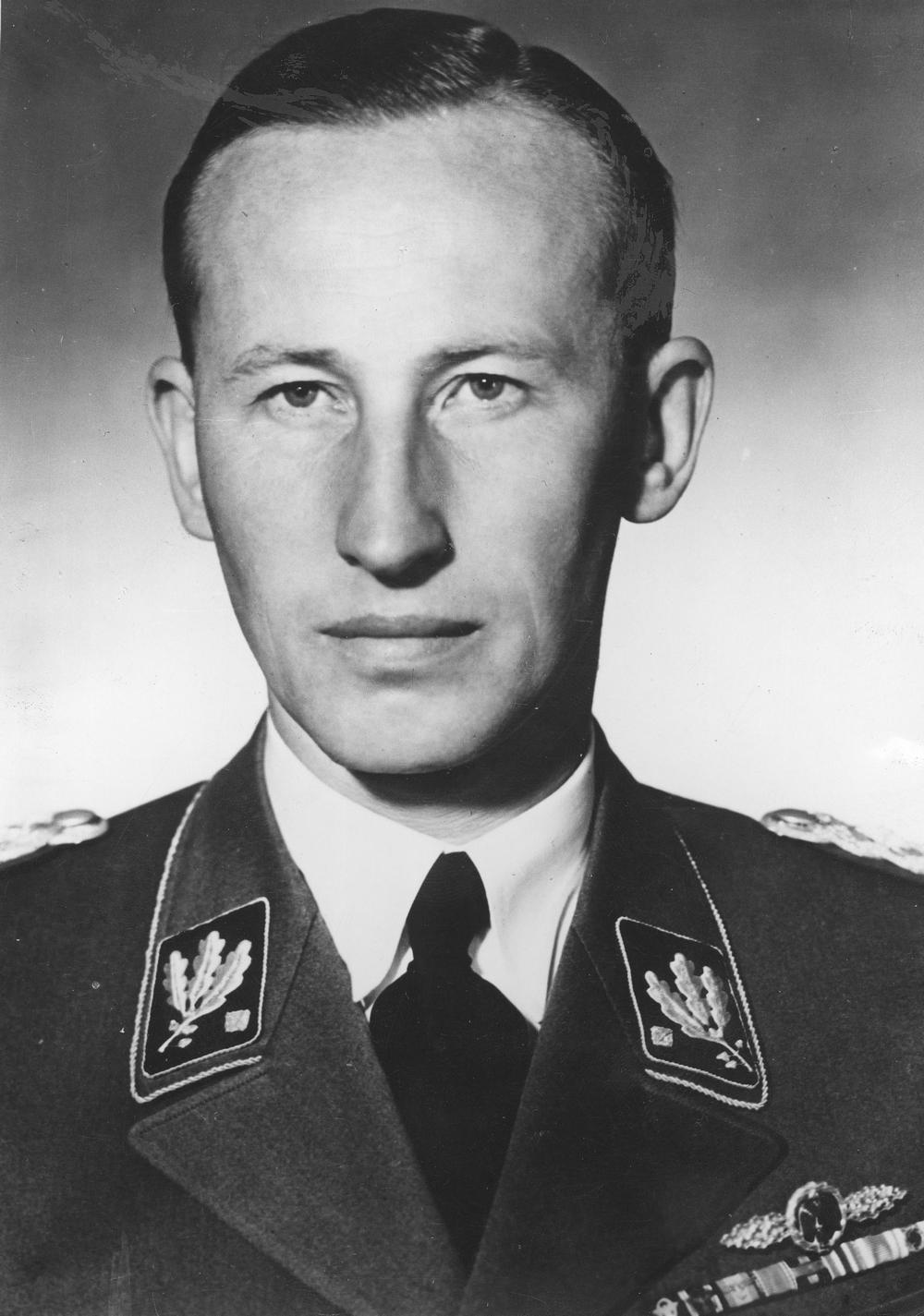 Plan zalana Wielkiej Brytanii fałszywymi funtami pojawił się już w połowie września 1939 roku na spotkaniu z szefem Głównego Urzędu Bezpieczeństwa Rzeszy Reinhardem Heydrichem (źródło: domena publiczna).