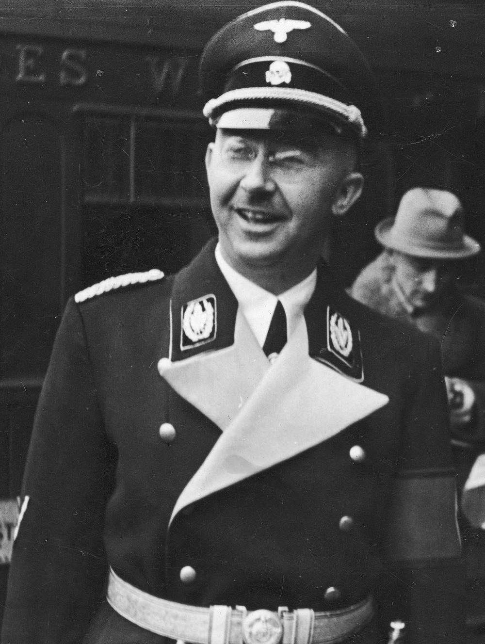 Twórca Lebensborn Reichsführer SS Heinrich Himmler (źródło: domena publiczna).