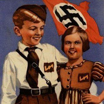 Zabrane polskim rodzicom dzieci miały stać się modelowymi Aryjczykami (źródło: domena publiczna).