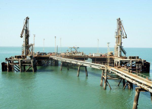 Khawr Al Amaya Oil Terminal będący celem GROM-u. (zdj. domena publ.)