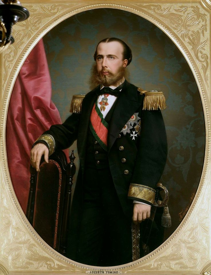Cesarz Maksymilian I na portrecie pędzla Avgusta Tominca (źródlo: domena publiczna).