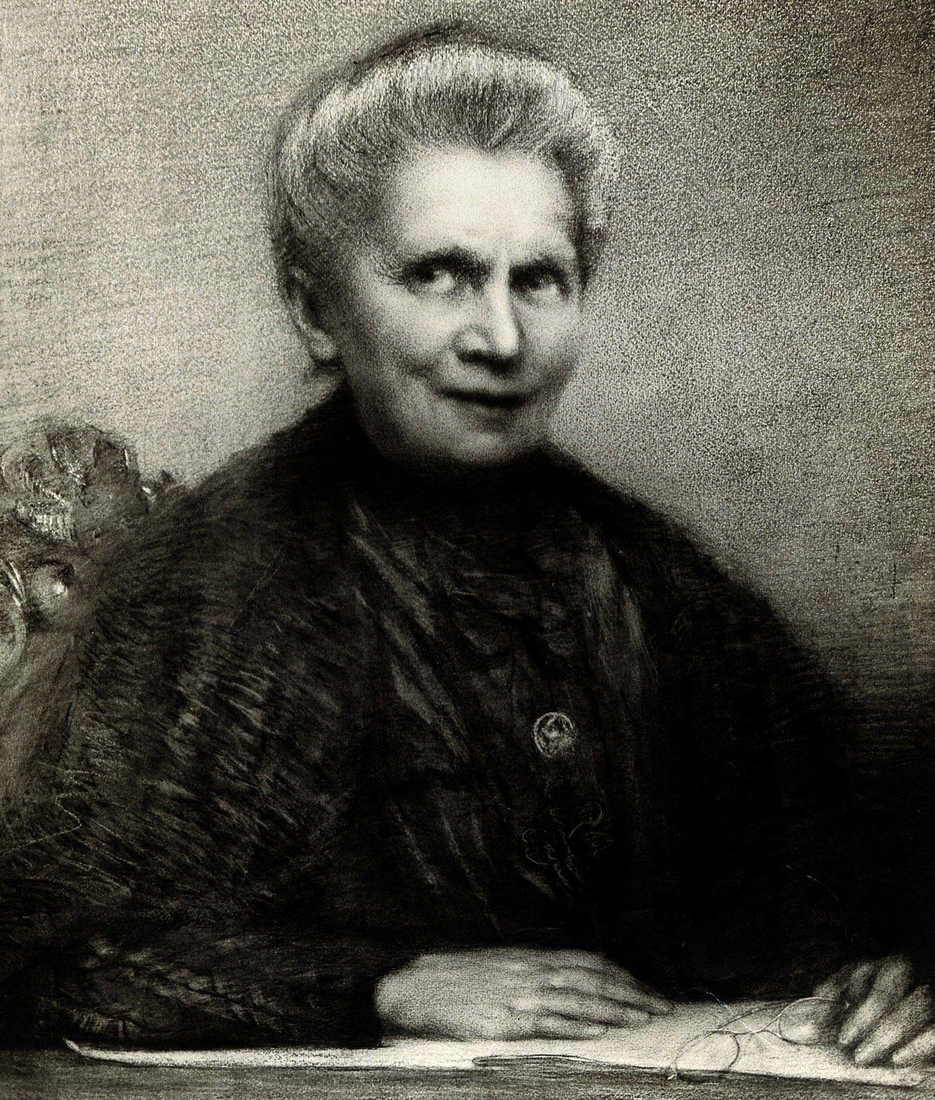 """Na """"Latającym Uniwersytecie"""" pierwsze naukowe kroki stawiała też Maria Skłodowska-Curie (źródło: Wellcome Images, lic. CC BY 4.0)."""