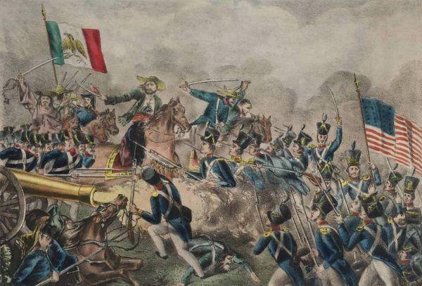 W starciu z dobrze wyszkoloną i uzbrojoną amerykańską armią Meksykanie nie mieli właściwie żadnych szans. Ich wojskom brakowało dosłownie wszystkiego (źródło: domena publiczna).