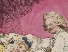 Niektorzy członkowie królewskich rodzin zdecydowanie wyprzedzali swoją epokę, jeśli chodzi o otwartość seksualną (rys. James Gillray, źródło: domena publiczna).