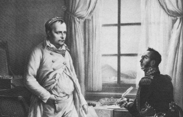 W trakcie pobytu na wyspie św. Heleny Napoleon poruszał w rozmowach ze znajomymi wiele kwestii, wśród nich nie zabrakło również rozważań na temat kobiet (źródło: domena publiczna).