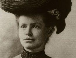 Nettie Stevens, to ona odkryła, że płeć determinują chromosomy (źródło: domena publiczna).