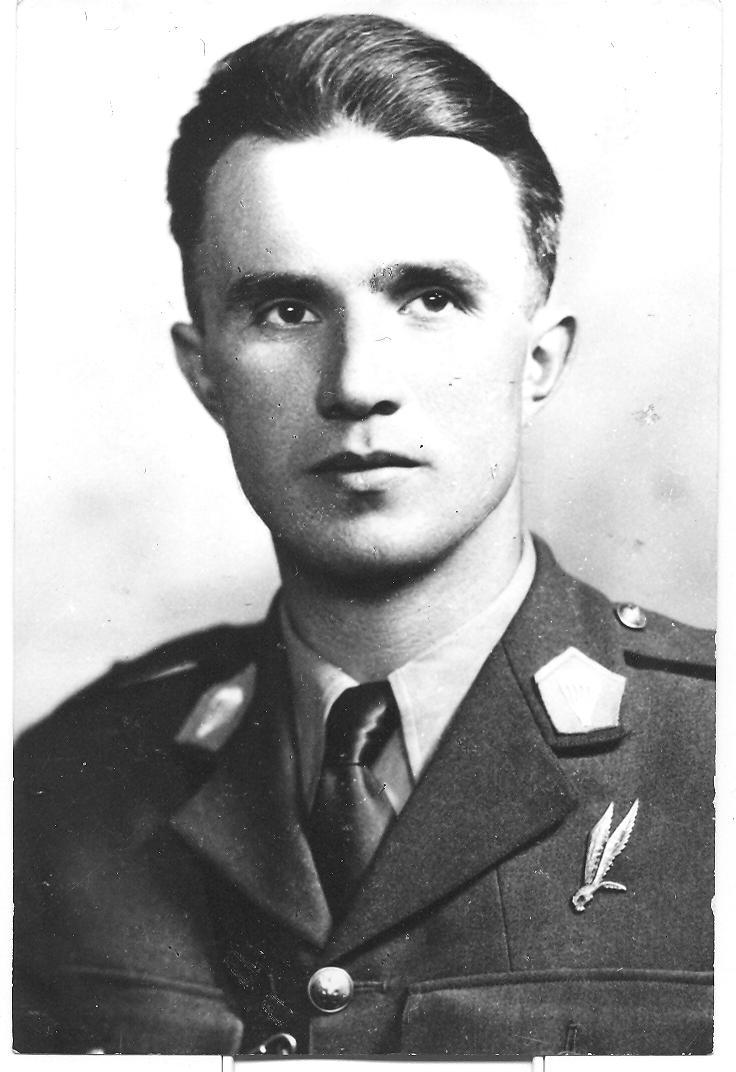Major piechoty Adam Trybus. Zdj. Maciej Trybus, lic. CC BY-SA 3.0.