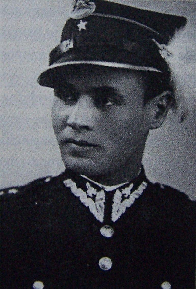 Major Franciszek Malik. Źródło: domena publiczna