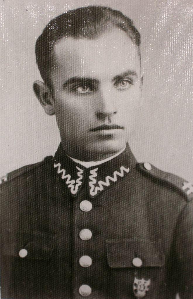 Kapitan Józef Kaczoruk. Źródło: domena publiczna.
