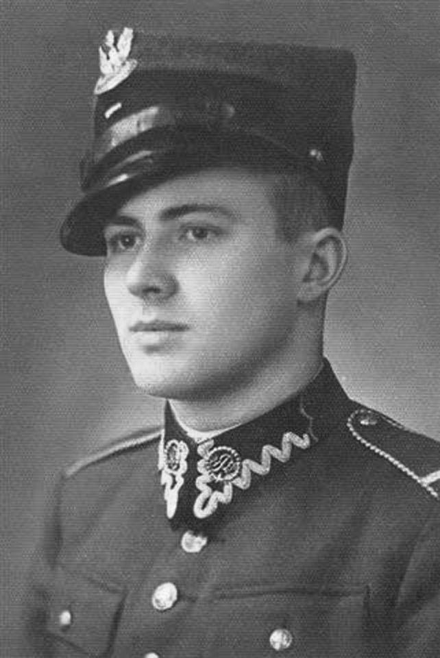 """Jan Nowak-Jeziorański, """"kurier z Warszawy"""". Źródło: domena publiczna."""