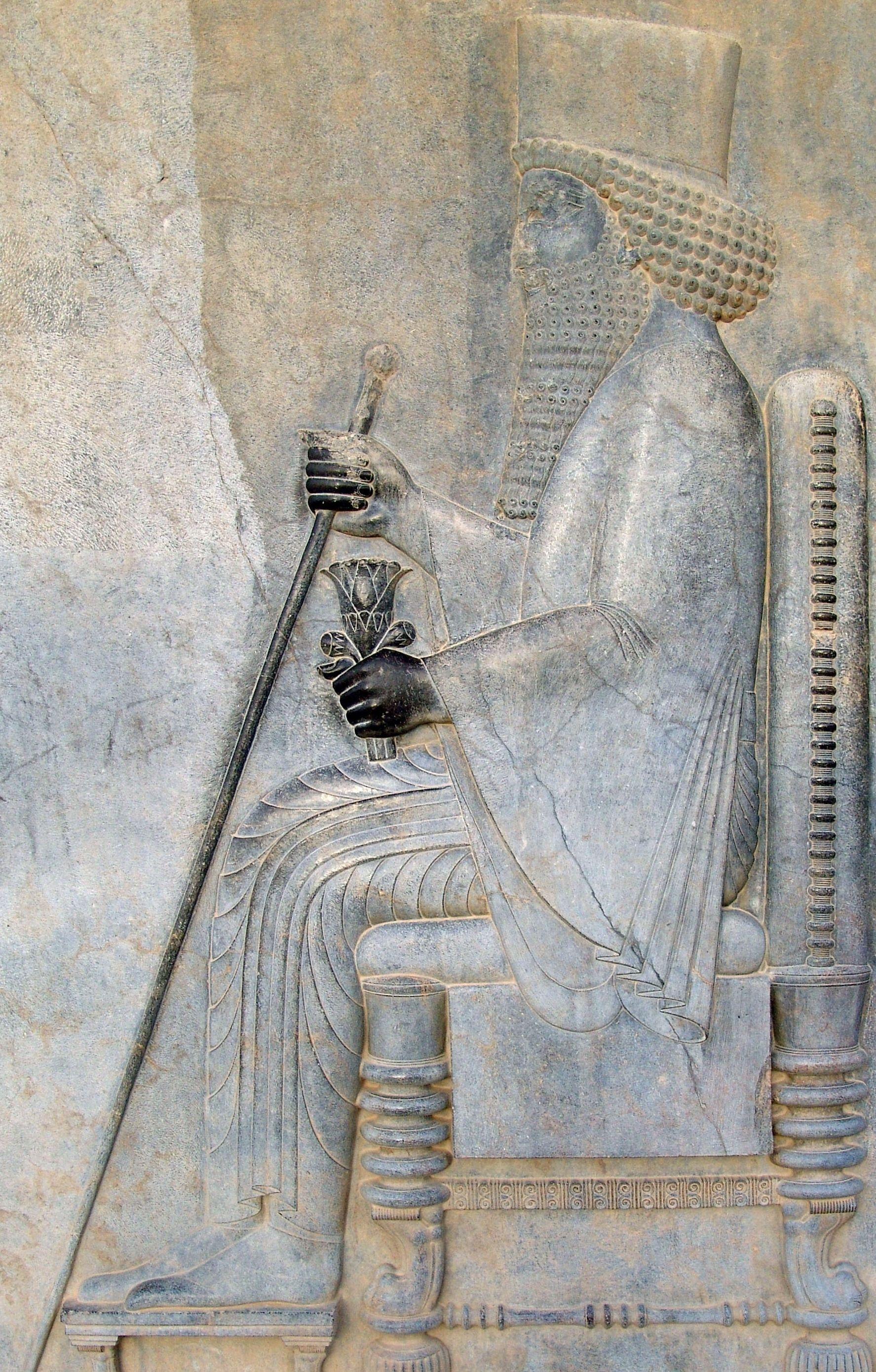 Dariusz Wielki dla osiągnięcia celu był gotów pozwolić na wyrżnięcie tysięcy swoich żołnierzy (fot. درفش کاویانی; lic. CC BY-SA 3.0).