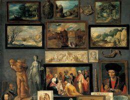 """Ciekawostki mają ponad 500 000 czytelników. Na ilustracji obraz """"Gabinet sztuki i ciekawostek"""" pędzla Fransa Franckena Młodszego."""