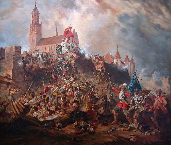 Artyści lubią sobie wyobrażać oblężenie Jasnej Góry w zgodzie z sienkiewiczowską wizją. Cóż, rzeczywistość wyglądała nieco inaczej niż na obrazie...