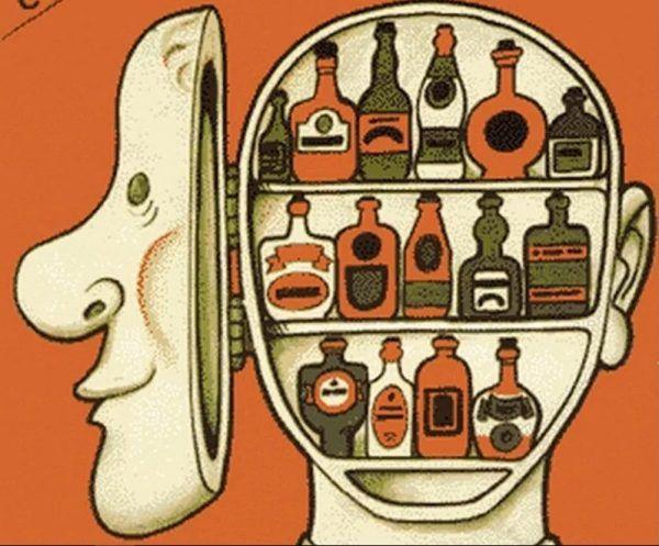 Wielu delikwentów chętnie wykupiłoby zapasy alkoholu z półek. A skoro nie można było... to czekał ich dzień z konsumpcją kolejnych butelek w kolejce. Fragment radzieckiego plakatu antyalkoholowego.