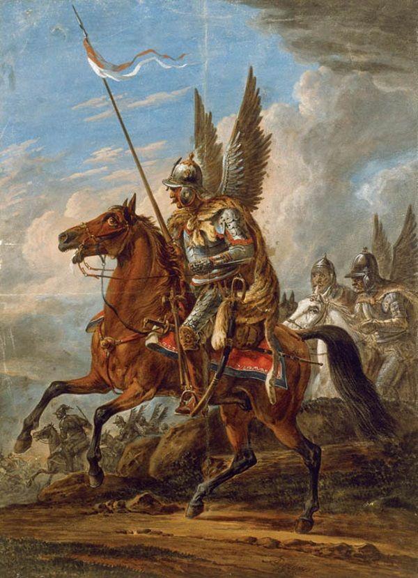 Husarz w wyobrażeniu Aleksandra Ostrowskiego (1777-1832).