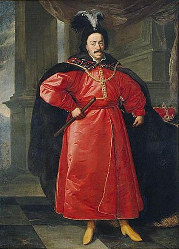 Jan Kazimierz w stroju polskim. Na codzień król chadzał z cudzoziemska i sam siebie za Polaka nie miał.