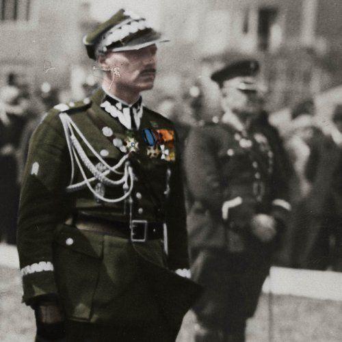 Czy gdyby nie postawa Władysława Andersa to Izrael w ogóle by powstał? Na zdjęciu generał w okresie międzywojennym (źródło: domena publiczna).