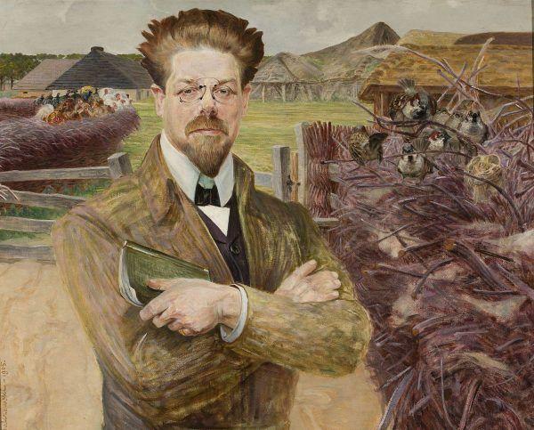 Pozytywnie na temat doznań wynikających z palenia opium wypowiadał się między innymi Władysław Reymont. Na ilustracji portret naszego późniejszego noblisty pędzla Jacka Malczewskiego (źródło: domena publiczna).