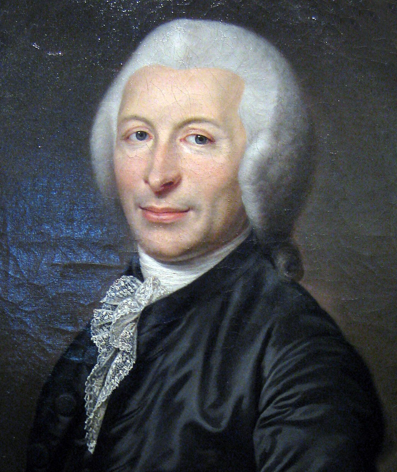Ojciec gilotyny we własnej osobie. Portret nieznanego artysty (źródło: domena publiczna).