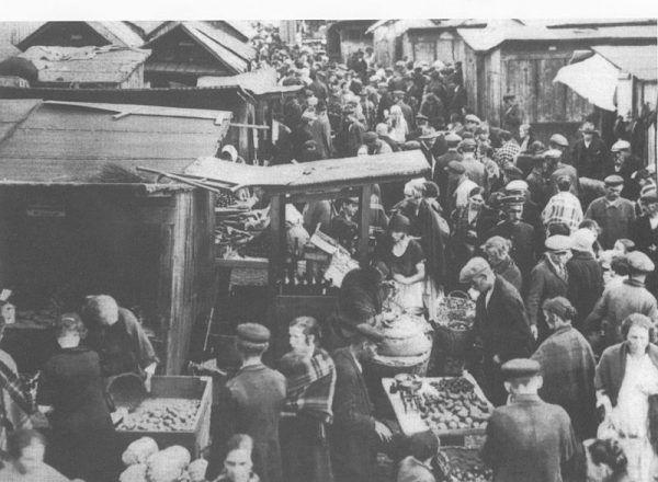 Tasiemka rządził między innymi na warszawskim Kercelaku (źródło: domena publiczna).
