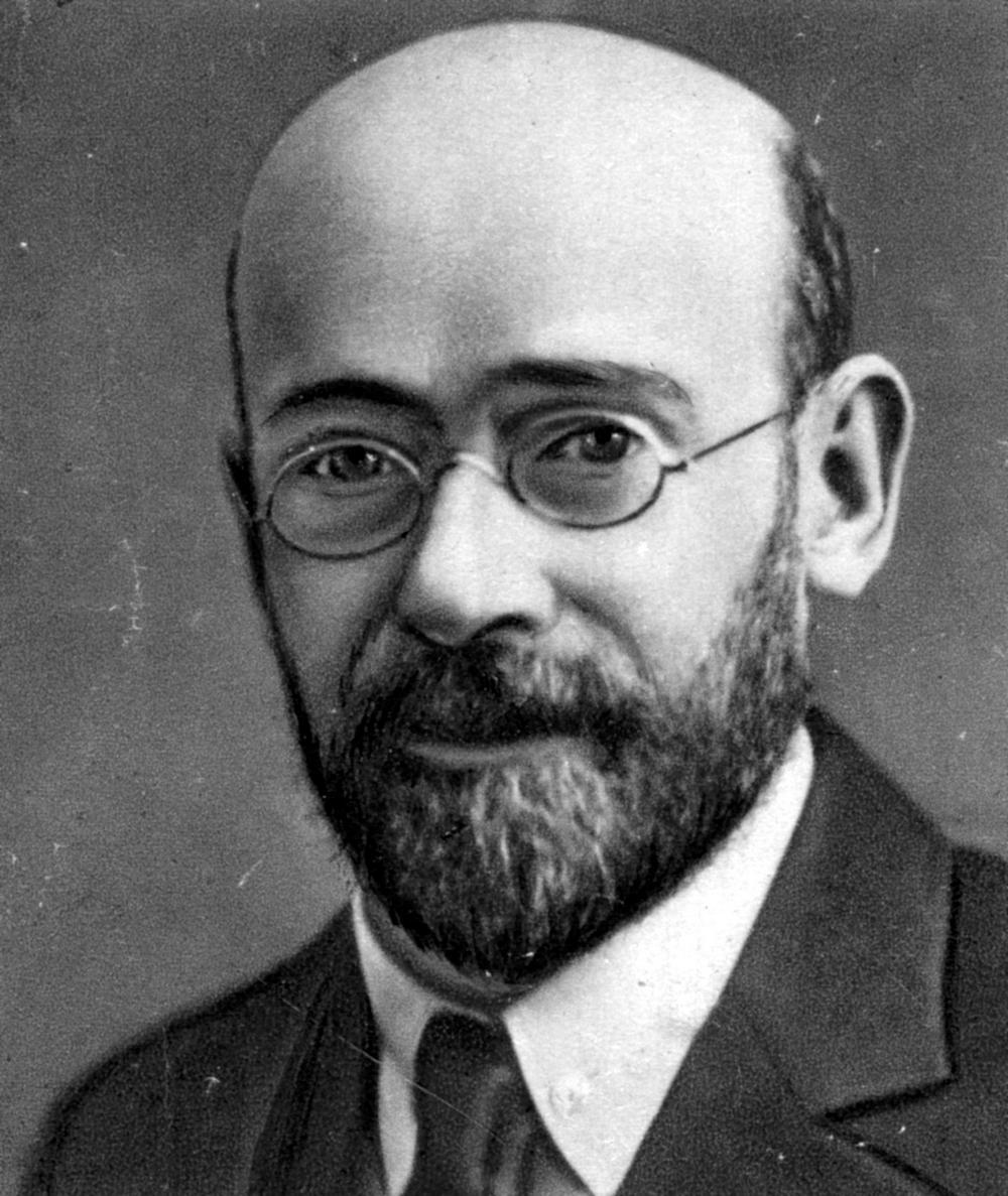 Pomoc warszawskim sierotom niósł również Janusz Korczak (źródło: domena publiczna).