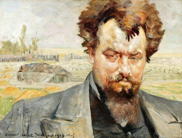 Z rodzimych środków odurzających korzystał prawdopodobnie Jan Kasprowicz. Na ilustracji portret poety autorstwa Jacka Malczewskiego (źródło: domena publiczna).