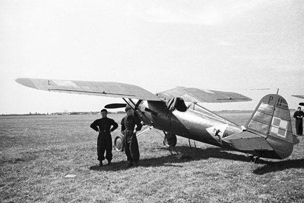 PZL P.11 w 1939 roku. Między innymi takich maszyn używali polscy piloci w kampanii wrześniowej walcząc z Luftwaffe.