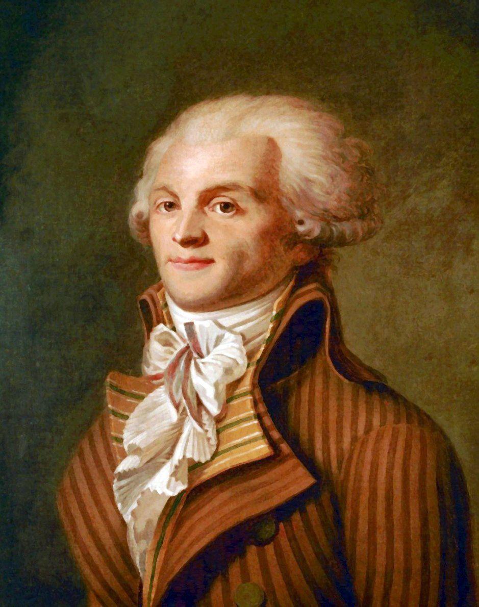 Maksymilian Robespierre w pierwszych miesiącach rewolucji opowiadał się za zniesieniem kary śmierci. Potem jednak całkowicie zmienił zdanie w tej kwestii (źródło: domena publiczna).