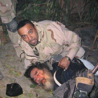 Schwytanie Saddama Husajna. Jego synów czekał jeszcze gorszy koniec (fot. US Army, domena publiczna).