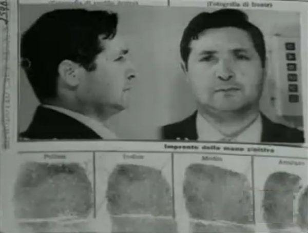 """Salvatore """"Toto"""" Riina to człowiek brutalny nawet jak na standardy mafii (domena publiczna)."""