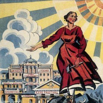 To, że zdarzały się jednostki szukające szczęścia w ZSRR, jest w głównej mierze zasługą świetnie działającej radzieckiej propagandy (źródło: domena publiczna).