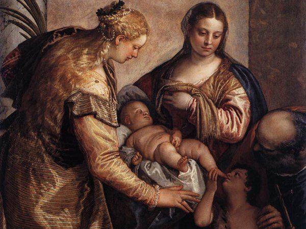 Jak różne od naszego było ówczesne podejście do seksualności dziecka niech świadczy fakt, że nawet na tym religijnym obrazie z 1570 roku pędzla Paolo Veronese'a mały Jezus dotyka swoich genitaliów (domena publiczna).