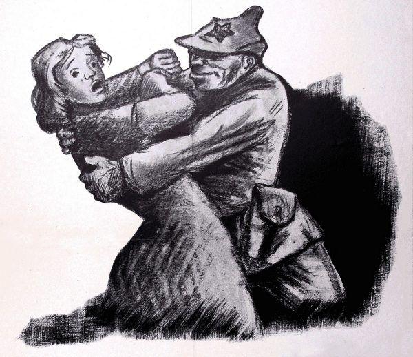 Czerwonoarmiści zgwałcili dziesiątki tysięcy Polek.