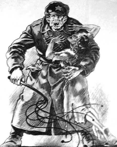 Żołnierze Armii Czerwonej często zachowywali się jak zwierzęta.