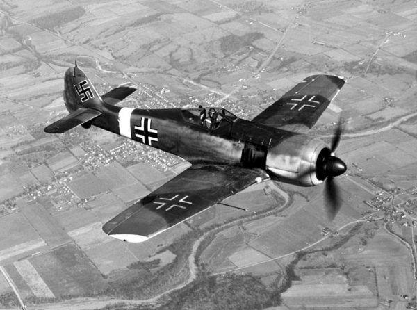 1 stycznia 1945 roku Niemcy chcieli zaskoczyć świętujących nowy rok aliantów. Na zdjęciu poglądowym Focke-Wulf Fw 190.