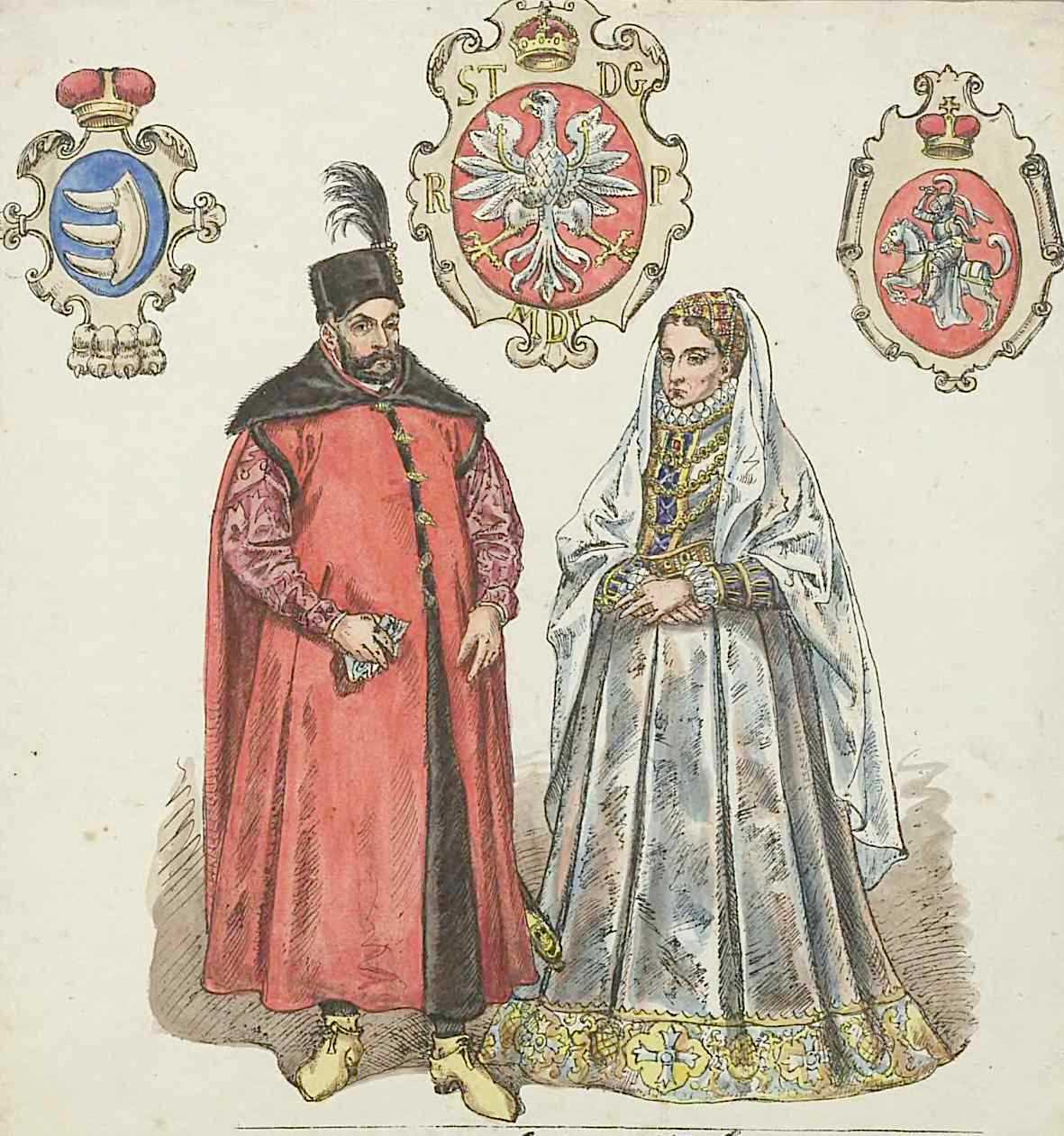 Polscy elektorzy mogli sobie pozwolić na wybranie człowieka, który nie miał w żyłach ani kropli królewskiej krwi. Jego władzę dostatecznie legitymizował ślub z Anną Jagiellonką, ostatnią z dynastii. Obraz pary królewskiej według Jana Matejki.