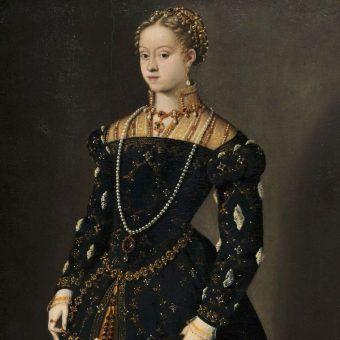 Niewierna małżonka? Nic z tych rzeczy! Katarzyna Habsburżanka w wieku 15 lat na obrazie Tycjana.