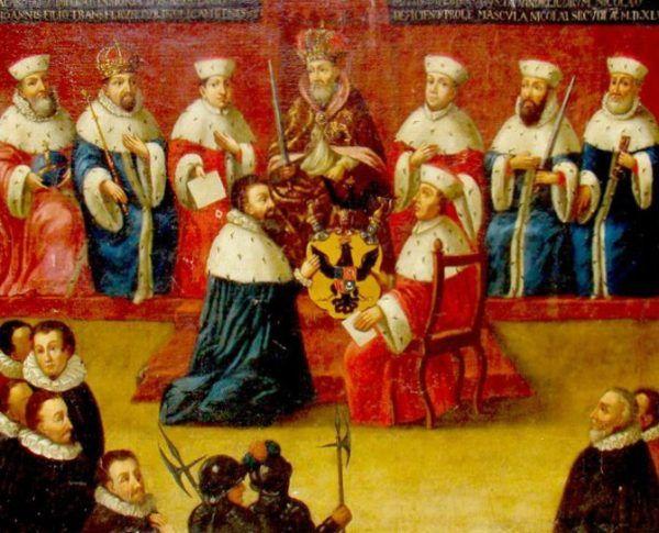 Radziwiłł znał się z Habsburgami już wcześniej - w 1547 roku otrzymał z ich rąk tytuł książęcy. Nie spodziewał się wtedy, że parę lat później wyląduje w łóżku z przedstawicielką tego rodu...